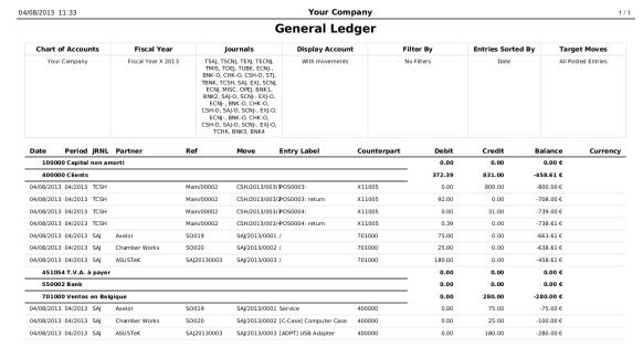 general ledger template 587
