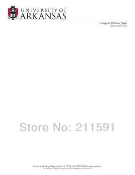 letterhead template 5841
