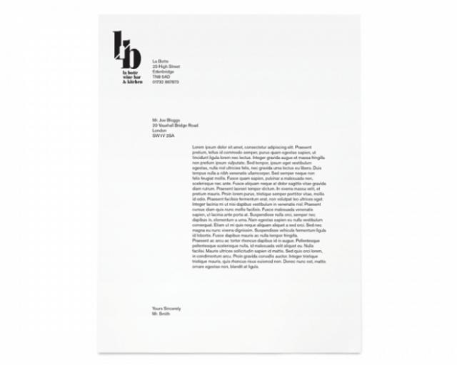 letterhead template 6541