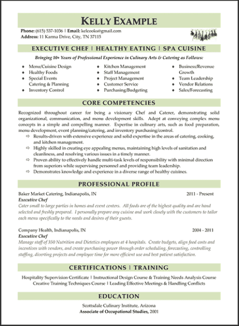 winning resume sample - Winning Resume Template