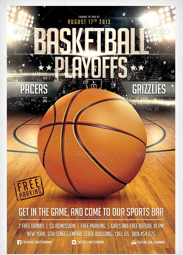 Basketball Flyer Template Word Free Download