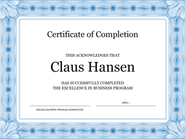 Jaai certificate sample choice image certificate design and template certificate of completion templates microsoft word images yadclub Image collections