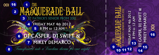 Wonderful Event Ticket Template 22588 Inside Ball Ticket Template
