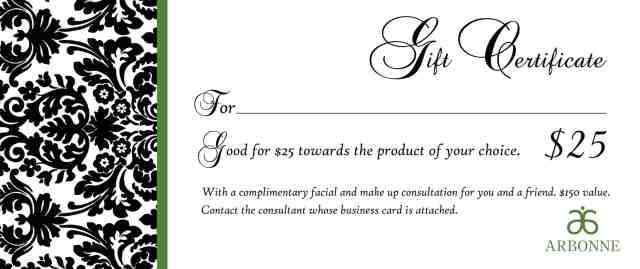 gift certififate template 1855