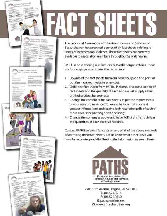 Fact sheet template  7778