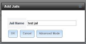 Create Jail Dialog