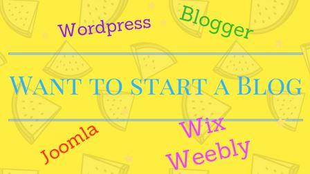 blogger vs wix and weebly