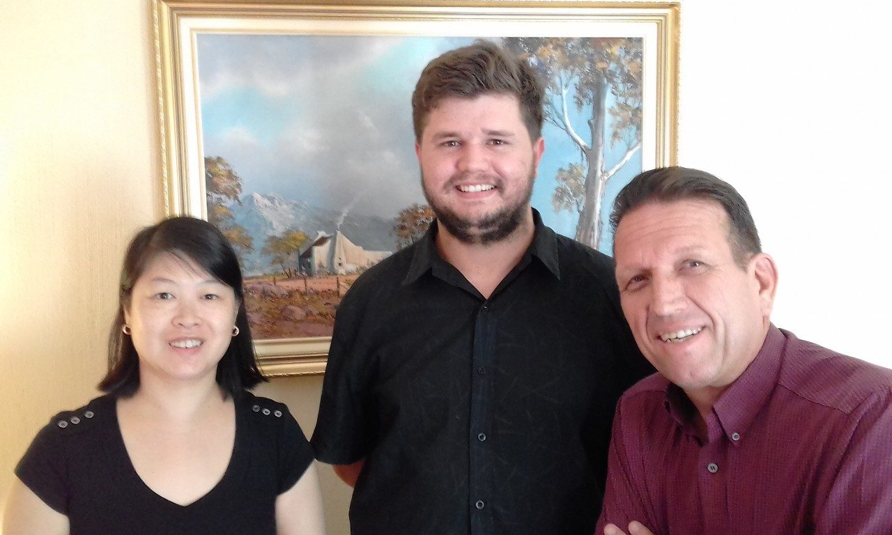 Bryan Walker, Linda Chiu and Rudolf Smith attended 'Google Ads' Training
