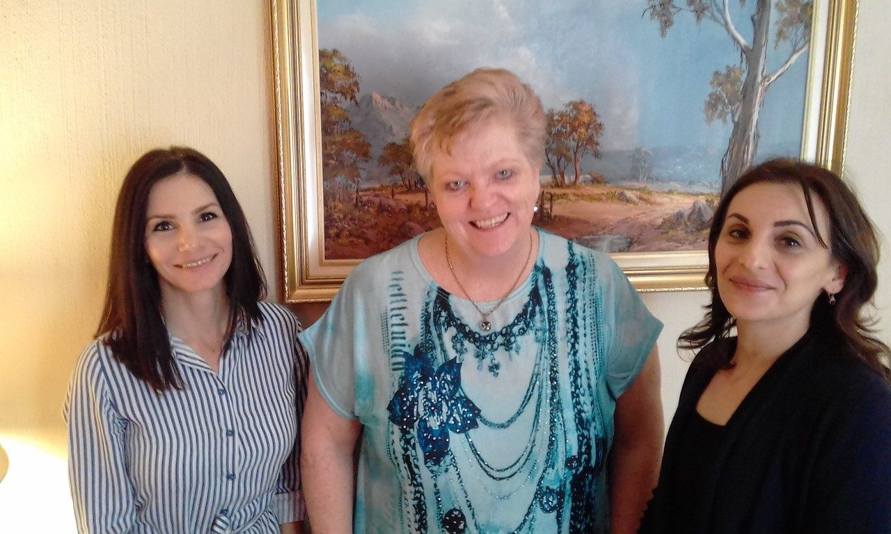 Iro Promnitz, Cheryll Kenshaw and Ria Vafiades (L to R) attended 'Sell Online - Create an Online Store - No Website Required'