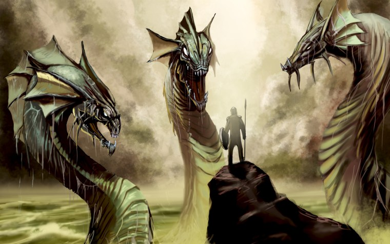 Slaying-the-Hydra-monster
