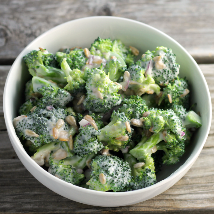 Cream Broccoli Salad