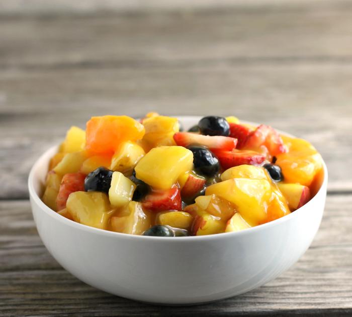 Glazed Fruit Salad