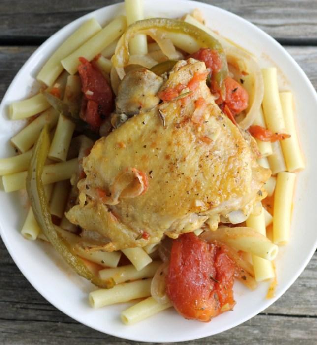 Slow Cooker Italian Seasoned Chicken