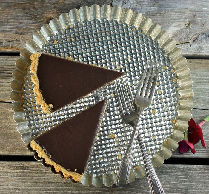Chocolate ganache tart with just a few ingredients will be your go-to dessert this summer.