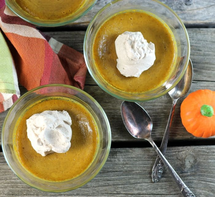Baked Pumpkin Pudding is easy, creamy, and delicious the perfect dessert for now that it is pumpkin season.