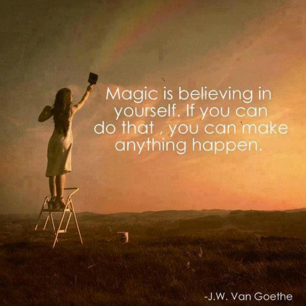 Magic is believing in yourself picture quotes and sayings - Words ...