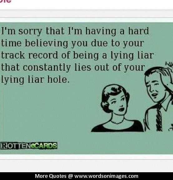 Quotes And Users Liars