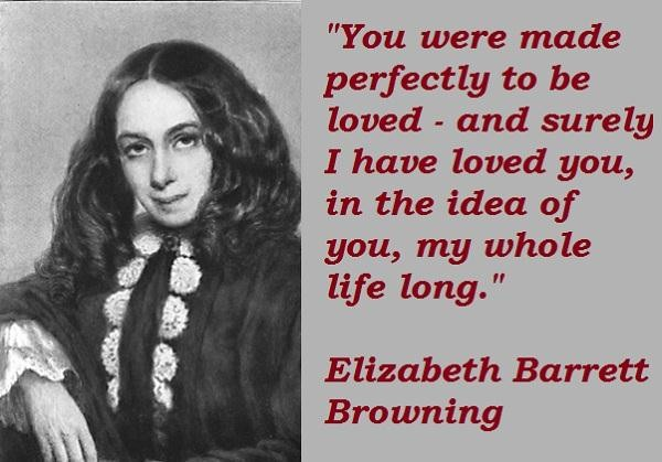 a biography and life work of elizabeth barrett browning in poetry