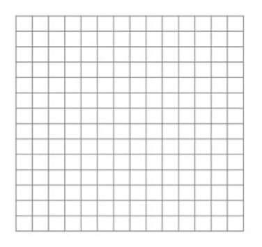 graph paper template 1