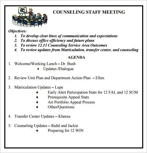 meeting agenda template 2