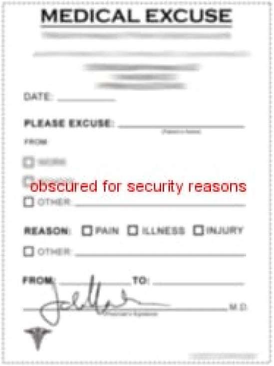 medical certificate 6