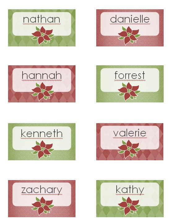 Event Place Card Template  Excel Pdf Formats