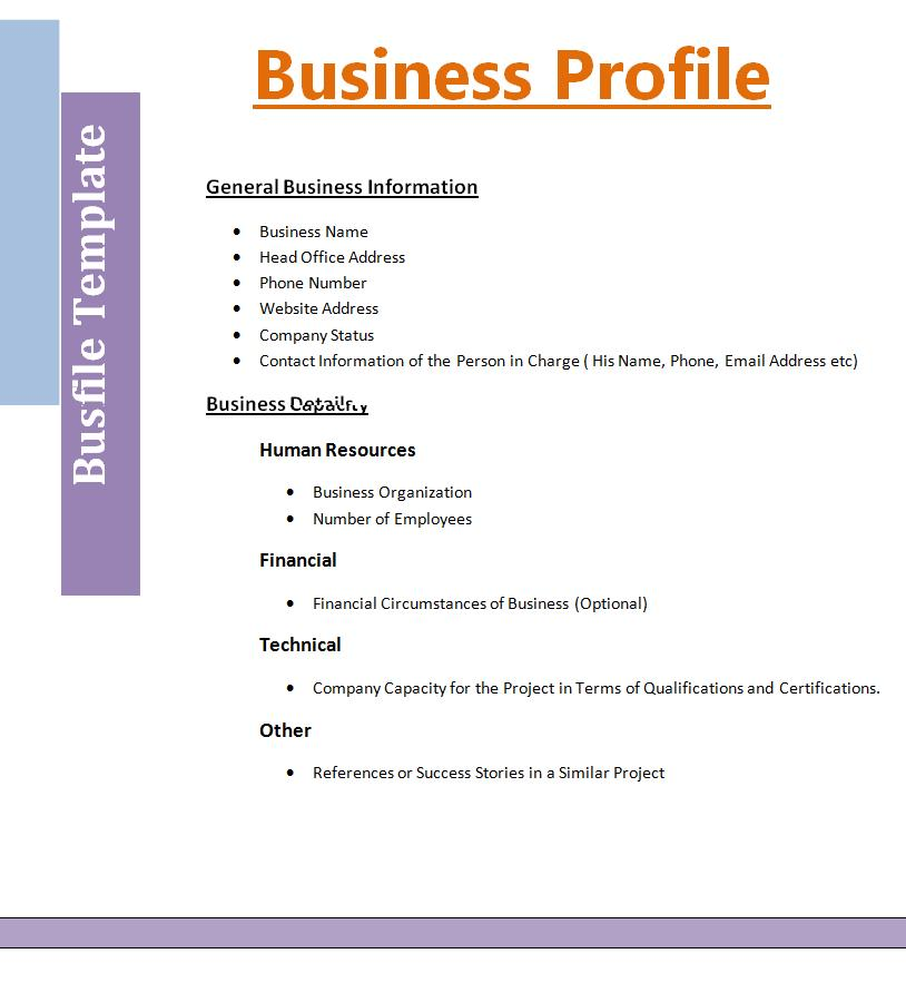 Company Profile Resume Example insider of a corezume best photos – Best Company Profile Format