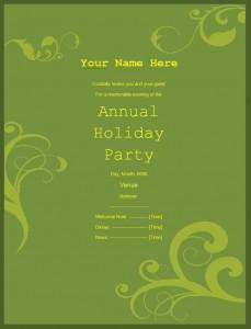 party invitation templates