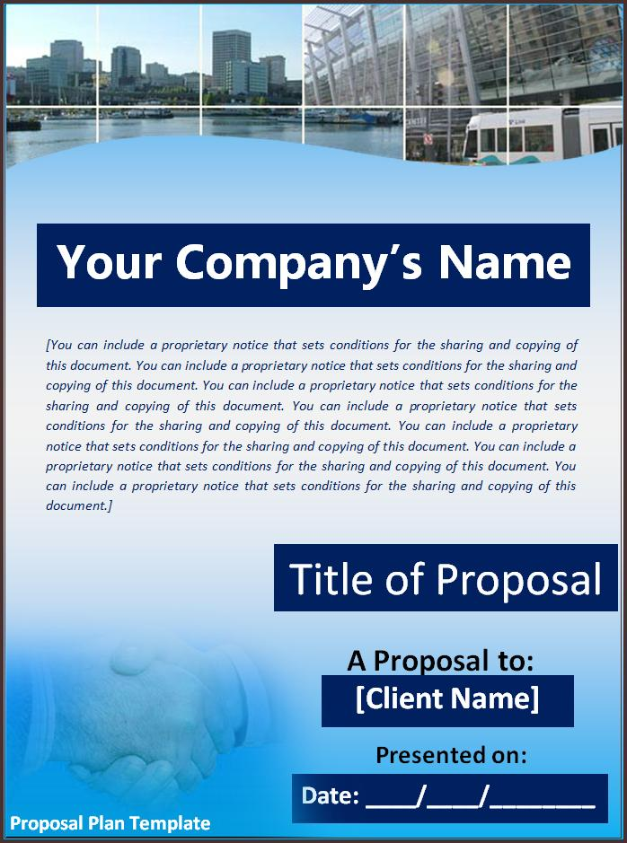 Project Proposal Word Template best photos of project templates – Proposal Template Microsoft Word