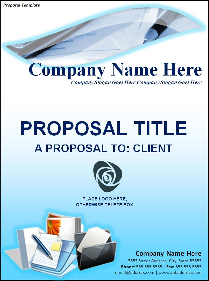 How to write a formal sales proposal
