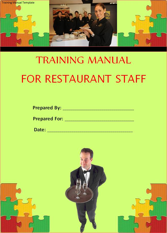 Training Manual Template | Free Word Templates