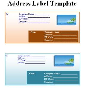 address label template free word templates. Black Bedroom Furniture Sets. Home Design Ideas