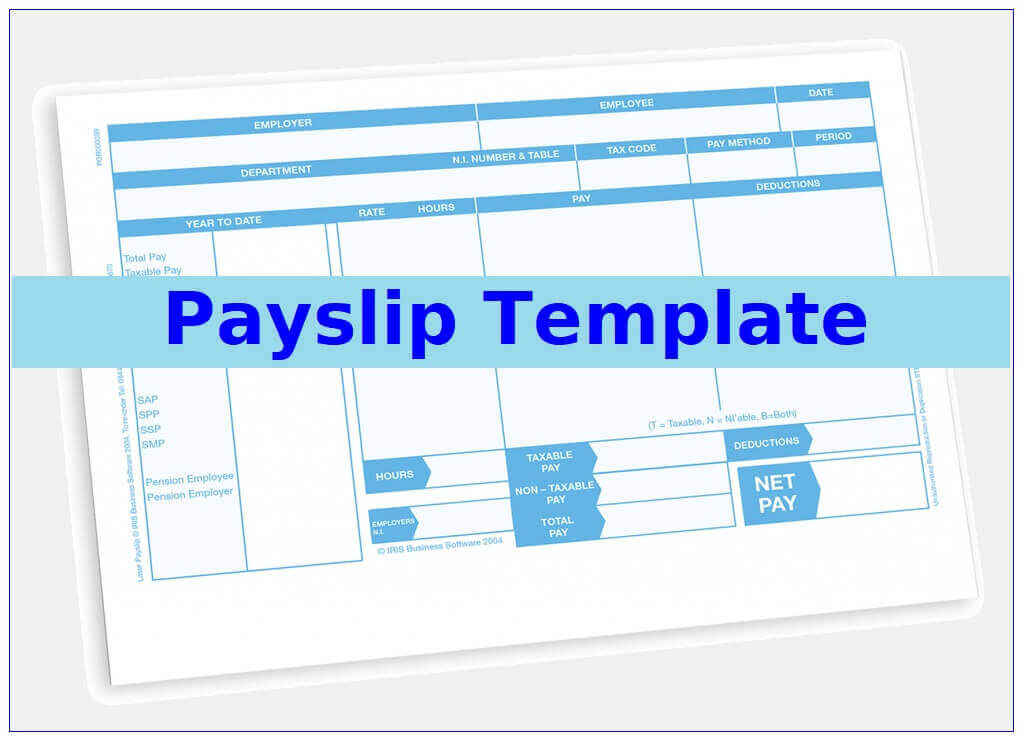 10+ Payslip Template | Free Word Templates