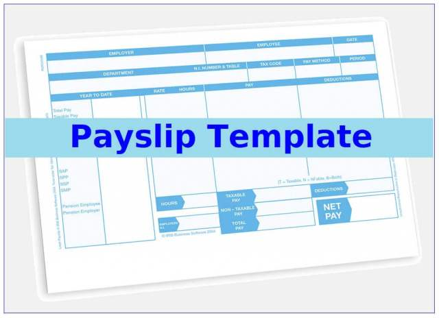 10+ Payslip Template | Printable Word & Excel Templates
