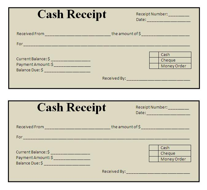Paid Receipt Template. rent paid receipt template success ...