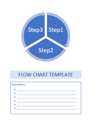 Word flow chart template 2