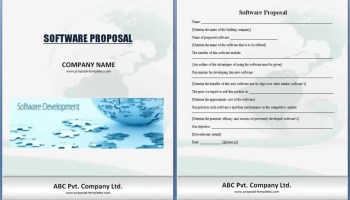 Business proposal template - Word Excel Formats
