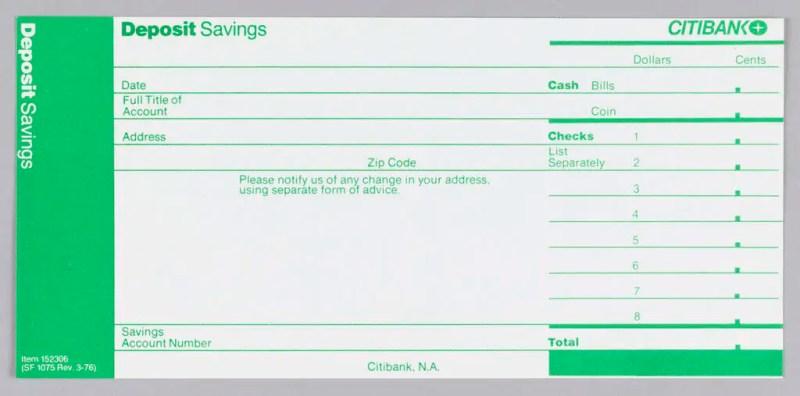 4 deposit slip templates