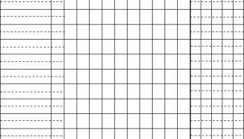 4 Printable Baseball Scorecard Sheet Templates - Excel xlts