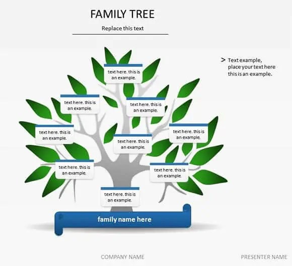 family tree template 2