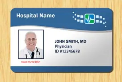 dr name tag template - 5 id badge templates excel xlts