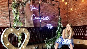 You Complete Me Neon Signage for Hire