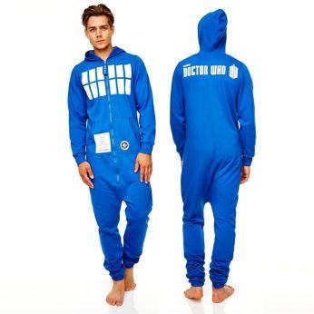 TARDIS onesie