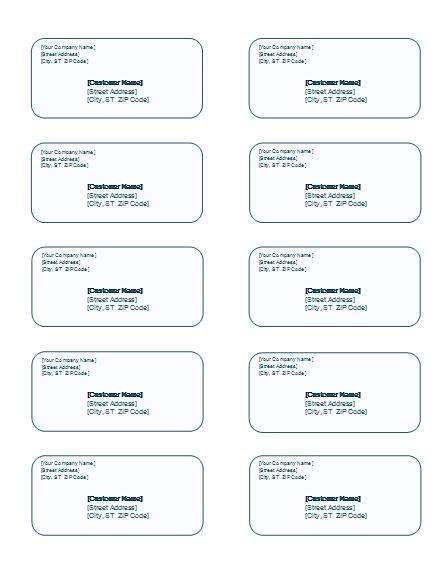 Sticker Templates Word sticker templates word microsoft word – Sticker Templates Word