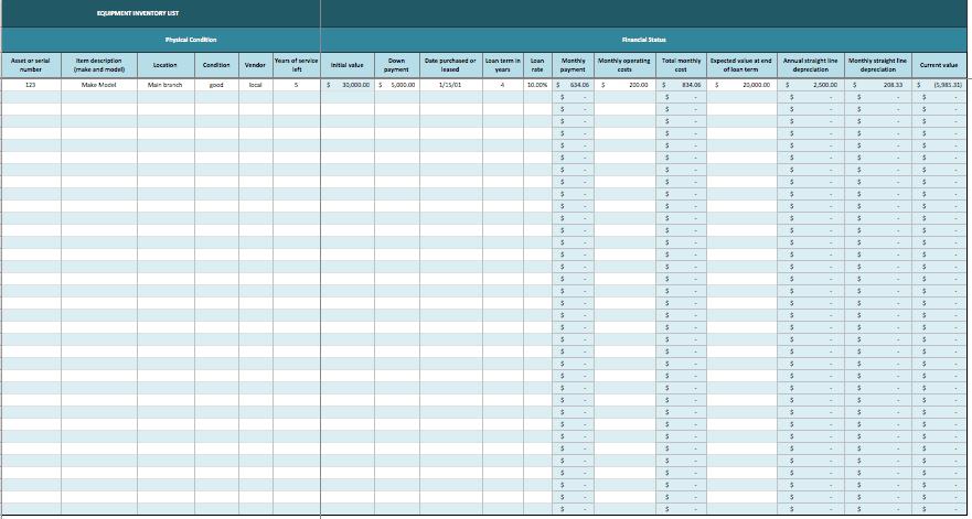 Tool Inventory Template. Tool Inventory Template 11 Free Word