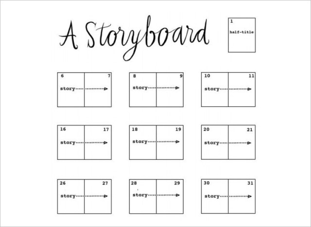 Storyboard Sample In Word | Storyboard Templates Word Templates Docs