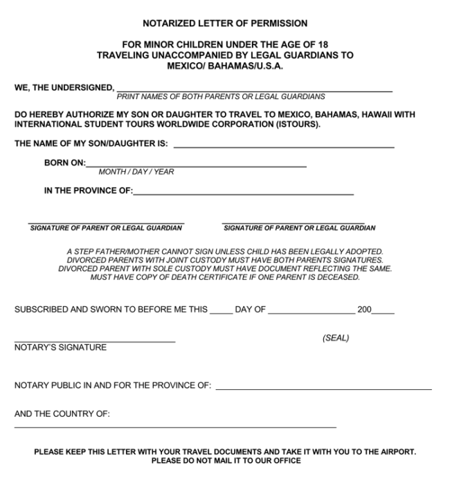 25 Notarized Letter Templates Samples Writing Guidelines