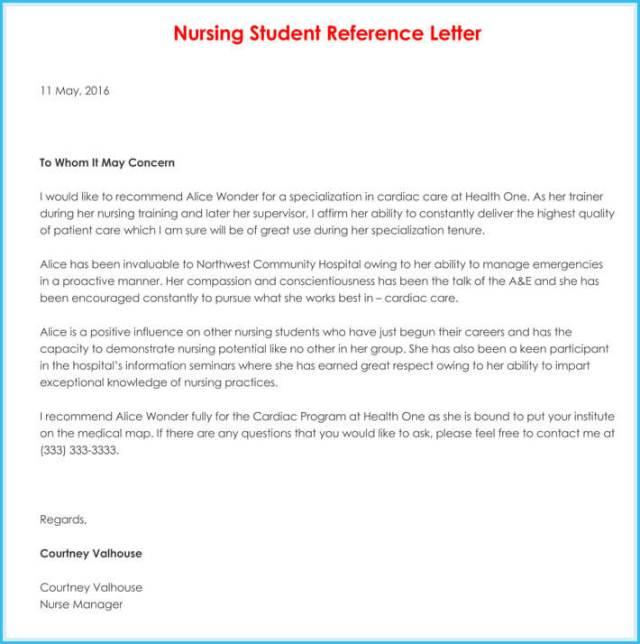 Nursing Reference Recommendation