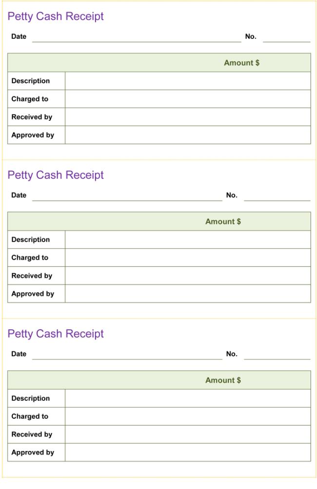 Petty Cash Template Word petty cash request form template – Petty Cash Voucher Format