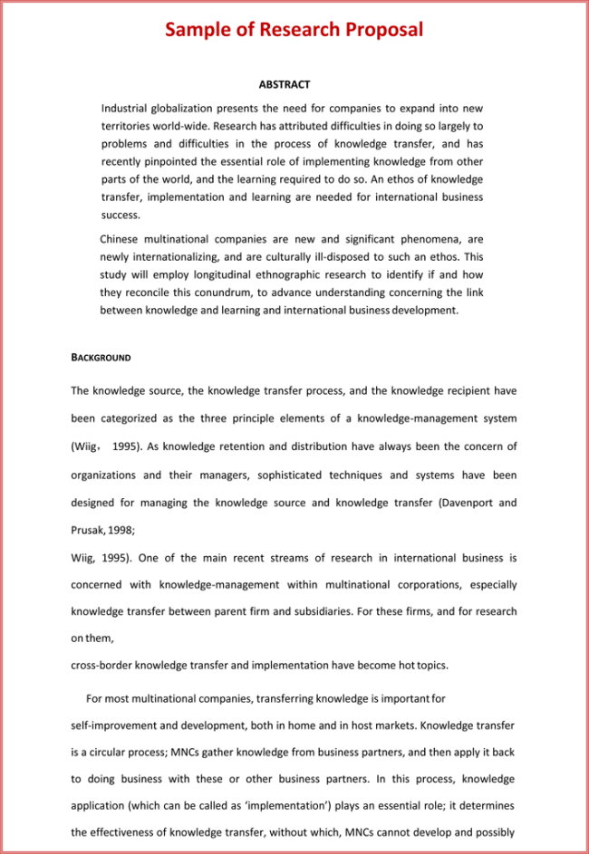 phd research proposal example